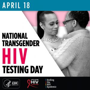 National Transgender HIV Testing Day Campaign Image