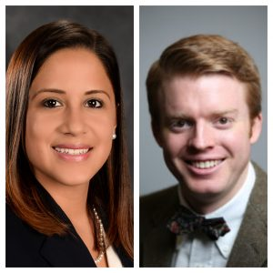 Headshot of Drs. Claudia Vicetti Miguel and Daniel Culhane